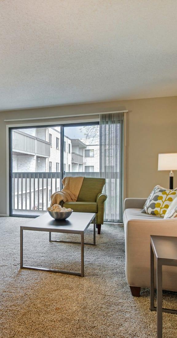 Oakwood Apartments in Plymouth, MN Balcony