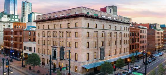 Elegant Exterior View at Mercantile Housing, Colorado, 80202