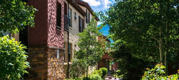 Property Exterior Walking Paths at Middle Creek Village LLC, Colorado