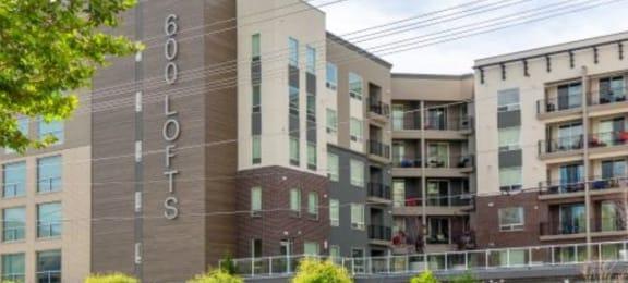 600 Lofts Entry - Beautiful Low Income Apartments Utah