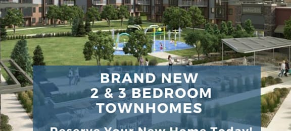 The Parc Brand New tri-level townhomes