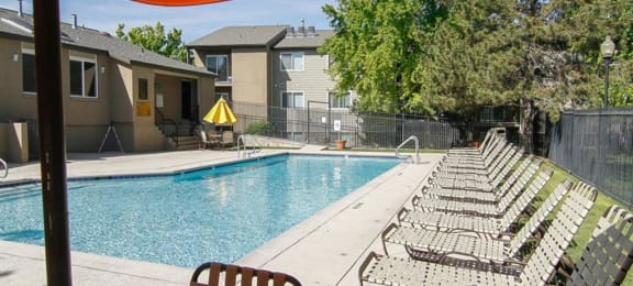 Pool With Sundeck at Crossroads Apartments, West Valley, UT, 84119