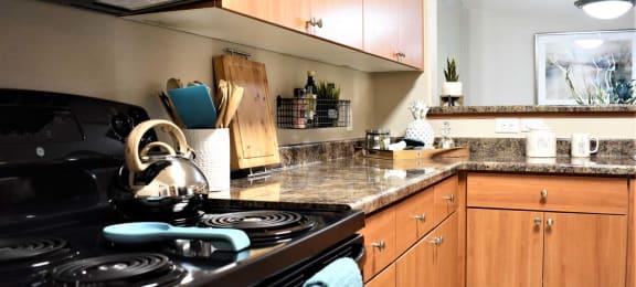 Fully Equipped Kitchen at Ascent at Papago Park, Phoenix, Arizona