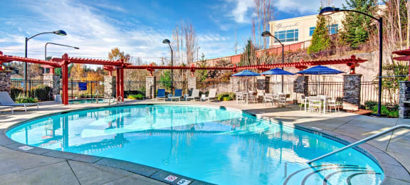 Resort-Inspired Pool, at Beaumont Apartments, Woodinville, Washington