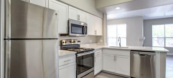 Spacious Kitchen at The Retreat Apartments in Phoenix, Arizona