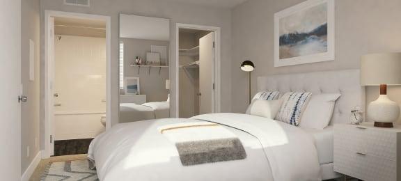 Indie Westside furnished bedroom