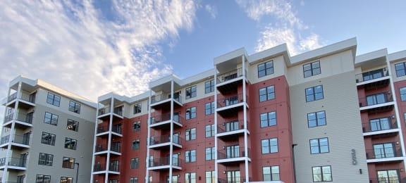 Exterior View of Building 350 at Latitude at South Portland, Portland, 04106