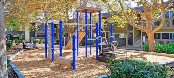 playground at at Wyndover Apartment Homes in Novato, CA