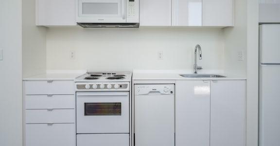 The Oliver All White Kitchen