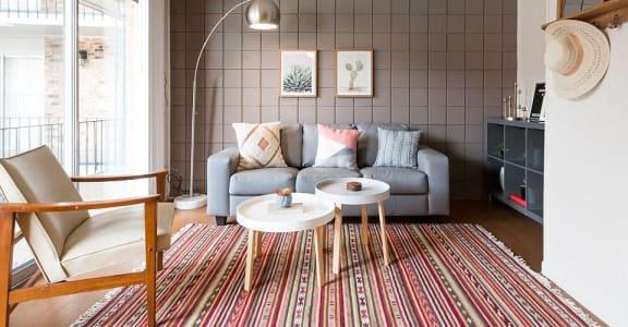 Casa Del Rio living area with decor