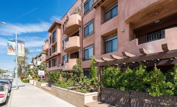 Villa Sofia Homes sidewalk