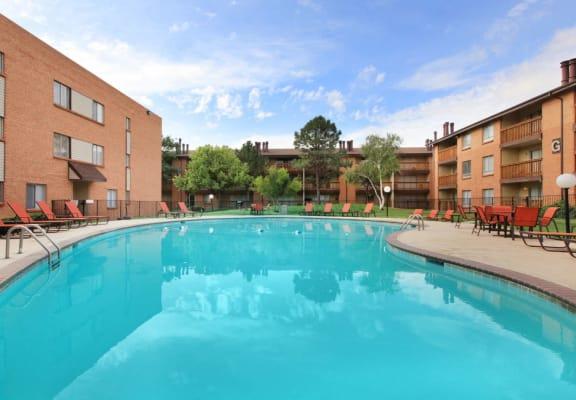 The Granite at thirty fourth amarillo apartments community pool