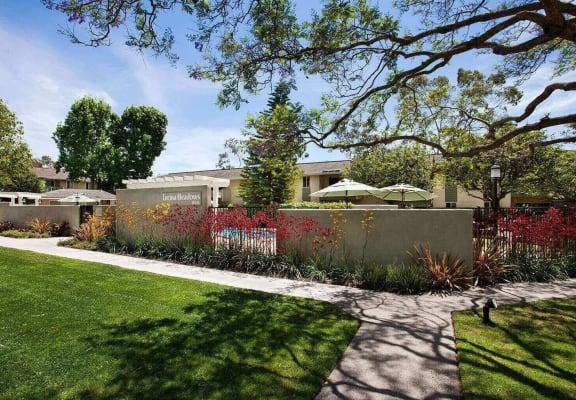Front Entrance To Property at Encina Meadows, Goleta, California