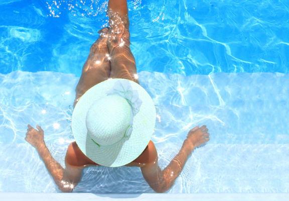 Invigorating Swimming Pool at Avellan Springs Apartments, North Carolina
