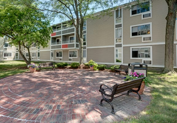 Blake Estates senior living apartments in Hyde Park, MA