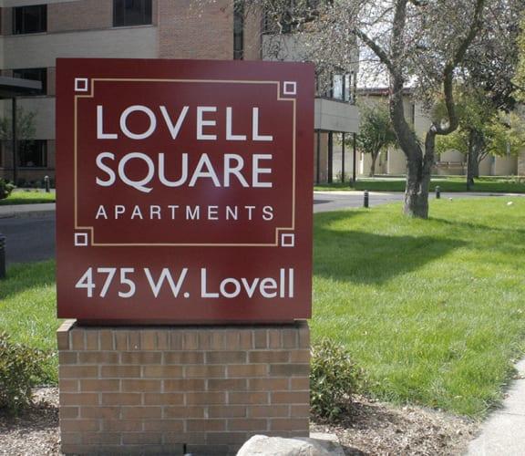Lovell Square Kalamazoo Sign