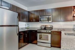 Refrigerator And Kitchen Appliances at Garfield Park, Arlington, 22201