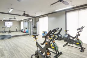 State-of-the-art-Fitness Center at The Gentry at Hurstbourne, Louisville, KY, 40222