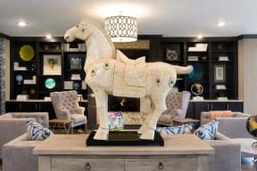 Luxurious Resident Clubhouse at The Gentry at Hurstbourne, Kentucky