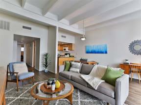 Modern Living Room Interiors at Paradise Palms, Phoenix, AZ 85014