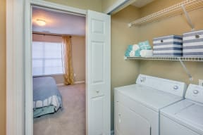 Laundry Facility Available at Southpoint Crossing, Durham, NC