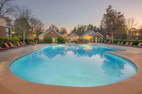 Private Swimming Pool at Southpoint Crossing, North Carolina
