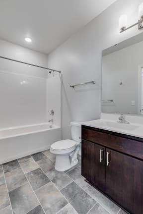 Bathroom Featuring Premium Fixtures & Finishes
