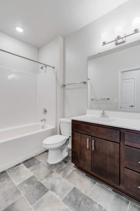 Spacious Bathroom Featuring Large Bathroom Vanity
