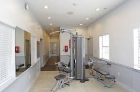 Strength Equipment at the Fitness Center