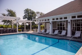 Outdoor Pool with Expansive Sundeck