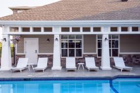 Lounge Furniture around the Pool Sundeck