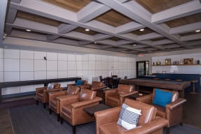 Theater Seating at the Private Game Room
