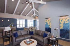 Clubroom Lounge Area and