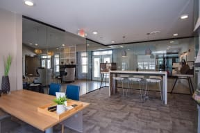Leasing Office at the Clubhouse