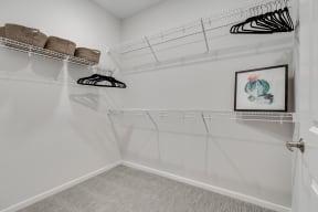 Spacious Walk-In Closet