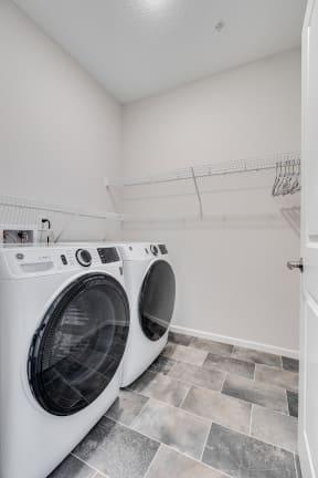 Walk-In Closet With Washer & Dryer