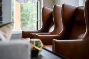 Lounge Seating in the Clubhouse