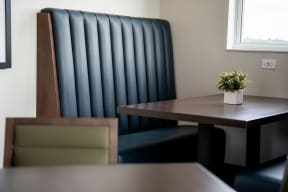 Built-In Booth Seating a