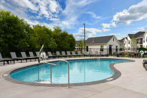 Outdoor Pool & Sundeck