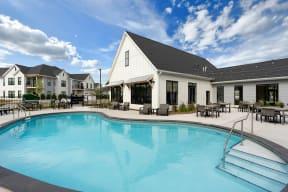 Expansive Pool & Sundeck