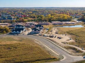 Aerial View of Sundance Woodbury from Hudson Rd.