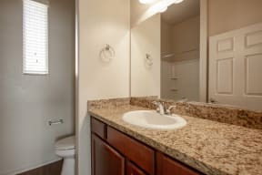 Bathroom at Casitas at San Marcos in Chandler AZ Nov 2020