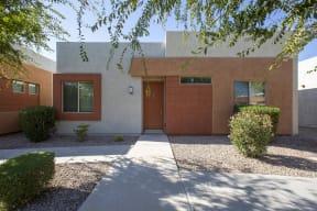 Exterior of at Casitas at San Marcos in Chandler AZ Nov 2020