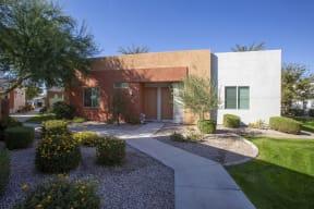 Exterior of Casitas at San Marcos in Chandler AZ Nov 2020