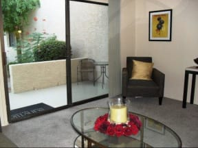 Living Room at SunVilla Resort Apartments in Mesa, AZ