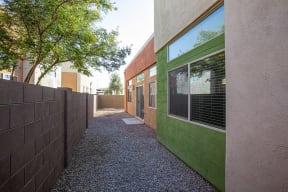 Patio Area at Casitas at San Marcos in Chandler AZ Nov 2020