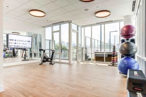 Yoga and Spin Studio at North+Vine, Chicago, 60610