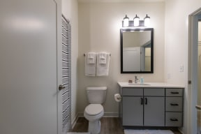 bathroom finishes
