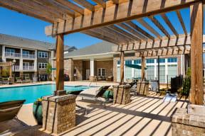 Pool Deck Pergola