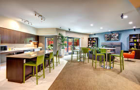 Resident Lounge at Canvas Apartments in Seattle